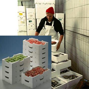 Термоящики для овощей и рыбы