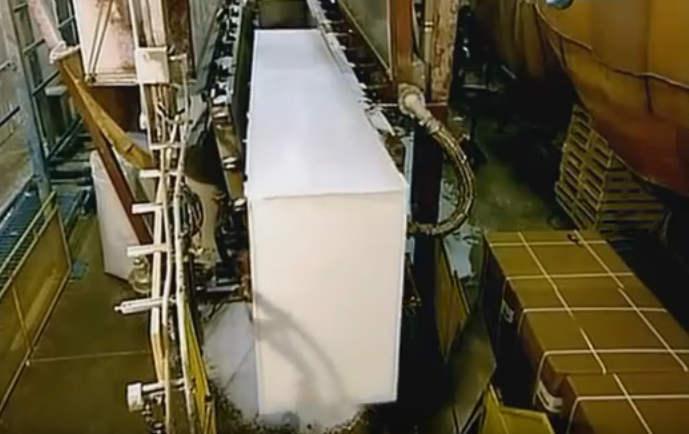 Услуги по запуску оборудования для пенопласта